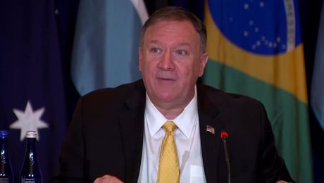 Secretary Pompeo remarks at the Energy Resources Governance Initiative event.