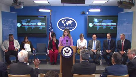 "New York Foreign Press Center Briefing on ""A Call to Action: First-Hand Accounts of Abuses in Cuba's Overseas Medical Missions."""