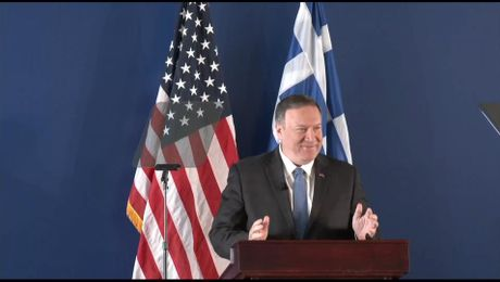 "Secretary Pompeo remarks on ""U.S. and  Greece: Showing the way Forward"""