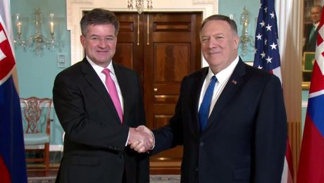 Secretary Pompeo meets with Slovak Foreign Minister Miroslav Lajcak