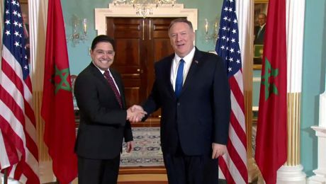 Secretary Pompeo meets with Foreign Minister Bourita