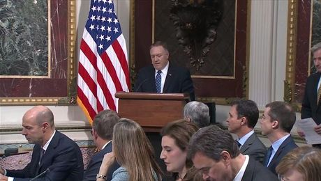 Secretary Pompeo chairs the (PITF) Annual Meeting - full event