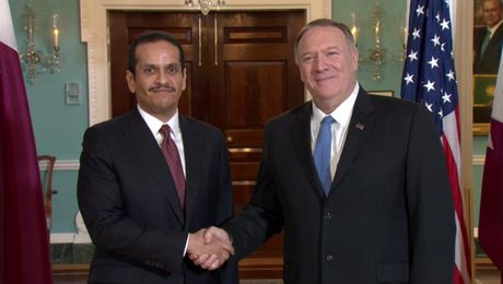 Secretary Pompeo meets with Qatari Deputy Prime Minister and Minister of Foreign Affairs Sheikh Mohammed bin Abdulrahman Al-Thani