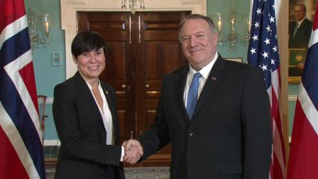Secretary Pompeo meets with Norwegian Foreign Minister Ine Marie Eriksen Soreide