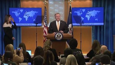 Secretary Pompeo remarks to the Media