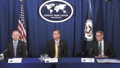 "Washington Foreign Press Center Briefing on the ""Deep Dive: How the U.S. is Addressing 5G and Security."""