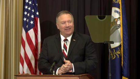 "Secretary Pompeo speech on ""Diplomatic Realism, Restraint, and Respect in Latin America"""