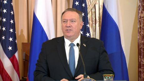 Secretary  Pompeo joint press availability with Russian Foreign Minister Sergey Lavrov