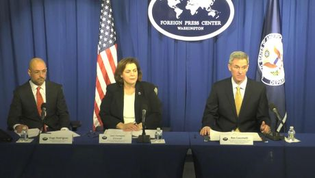 "Washington Foreign Press Center Briefing on the ""Joint Efforts on Border Security and Regional Partnerships Across Central America."""