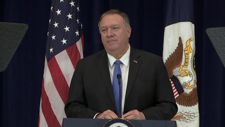 "Secretary Pompeo's speech on ""Human Rights and the Iranian Regime"""
