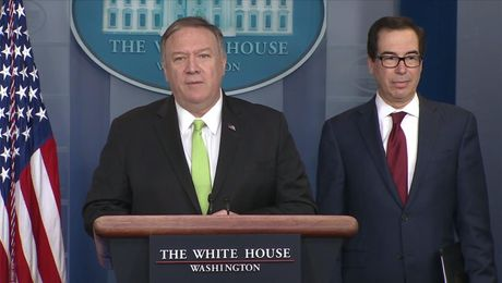 Press Briefing with Secretary Pompeo and Secretary Mnuchin.
