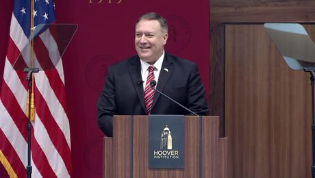 Secretary Pompeo remarks to Stanford University students at The Hoover Institution.