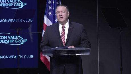 Secretary Pompeo remarks to the Silicon Valley Leadership Group