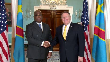 March 3, 2020 Secretary Pompeo meets with Democratic Republic of the Congo President Felix Tshisekedi