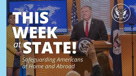 This Week at State - April 10, 2020