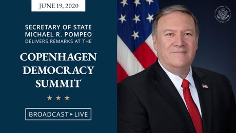 Secretary Pompeo Remarks at the Copenhagen Democracy Summit