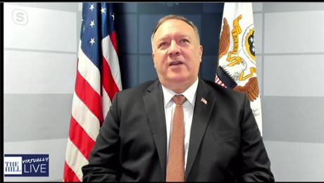 Secretary Pompeo's remarks in a virtual event with The Hill.
