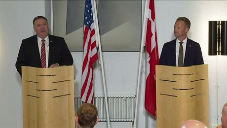 Secretary Pompeo and Danish Foreign Minister Kofod Hold a Press Conference