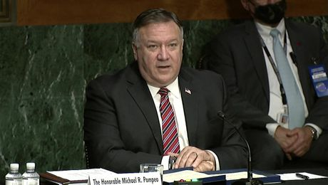 Secretary Pompeo testifies before the Senate Foreign Relations Committee.