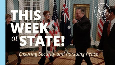 This Week at State - July 31, 2020