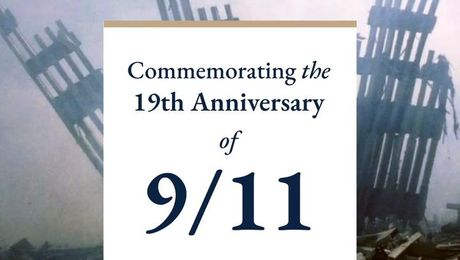 Commemorating the 19th Anniversary of 9/11