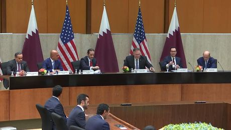 Secretary Pompeo's opening remarks at the U.S.-Qatar Strategic Dialogue.