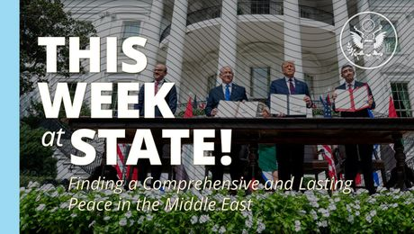 This Week at State: September 18, 2020