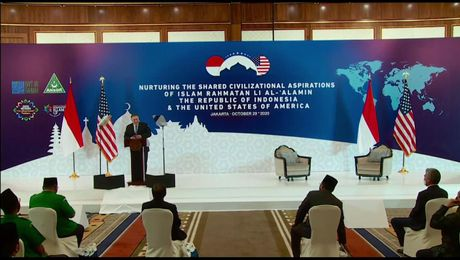 Secretary Pompeo's remarks in Indonesia.