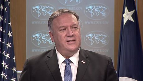 Secretary . Pompeo remarks to the media