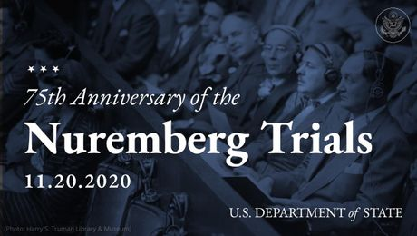 Secretary Pompeo Recognizes the 75th Anniversary of the Nuremberg Trials