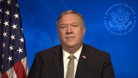 Secretary Pompeo's video message at the Afghanistan 2020 Conference