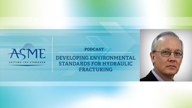 Developing Environmental Standards for Hydraulic Fracturing