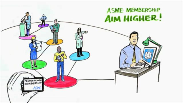 Aim Higher by Transitioning to ASME Professional Membership!