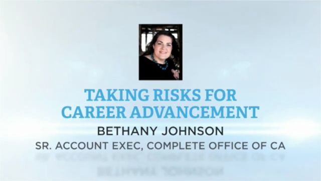 Video: Taking Risks for Career Advancement