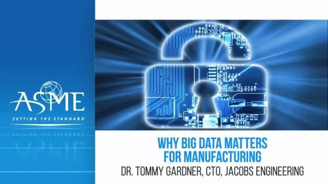 Why Big Data Matters for Manufacturing