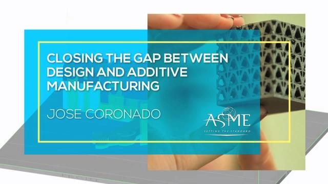 Closing the Gap between Design and Additive Manufacturing