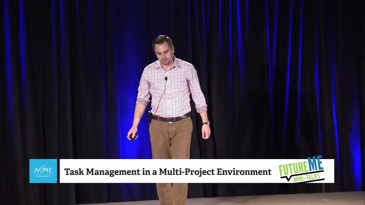 Task Management in a Multi-Project Environment | FutureME Mini-Talks