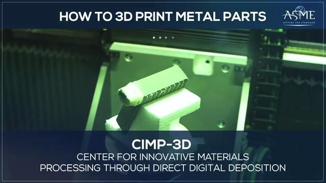 How to 3D Print Metal Parts