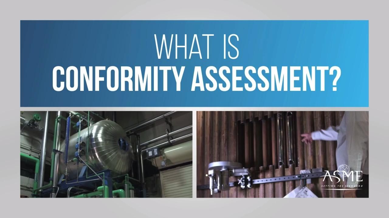 What is ASME Conformity Assessment?