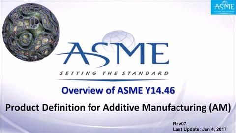 Why Y14.46  is Recommended for Use in Additive Manufacturing