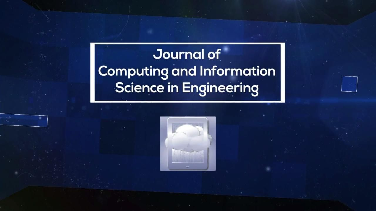 Journal of Computing and Information Science in Engineering