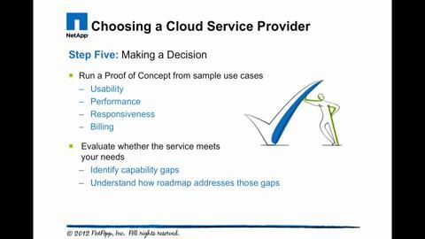 Five Steps for Choosing a Service Provider