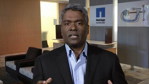 George Kurian, EVP, Product Operations Shares NetApp's Product Strategy