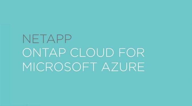 NetApp ONTAP Cloud for Microsoft Azure