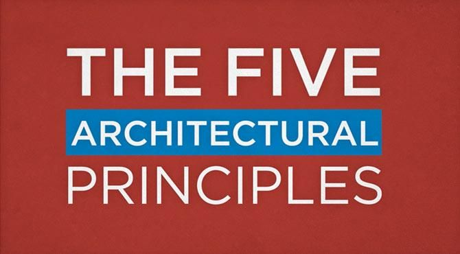 The Five Architectural Principles of the Next Generation Data Center