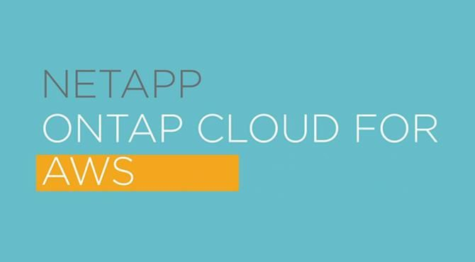 NetApp ONTAP Cloud for AWS