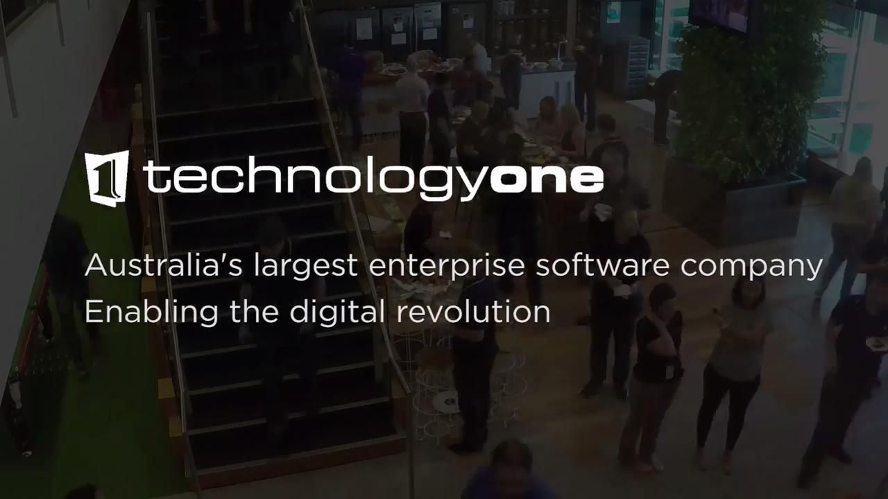 TechnologyOne 2017 NetApp Innovation Awards Video