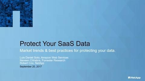 Protect Your SaaS Data: Market Trends & Best Practices for Protecting Your Data