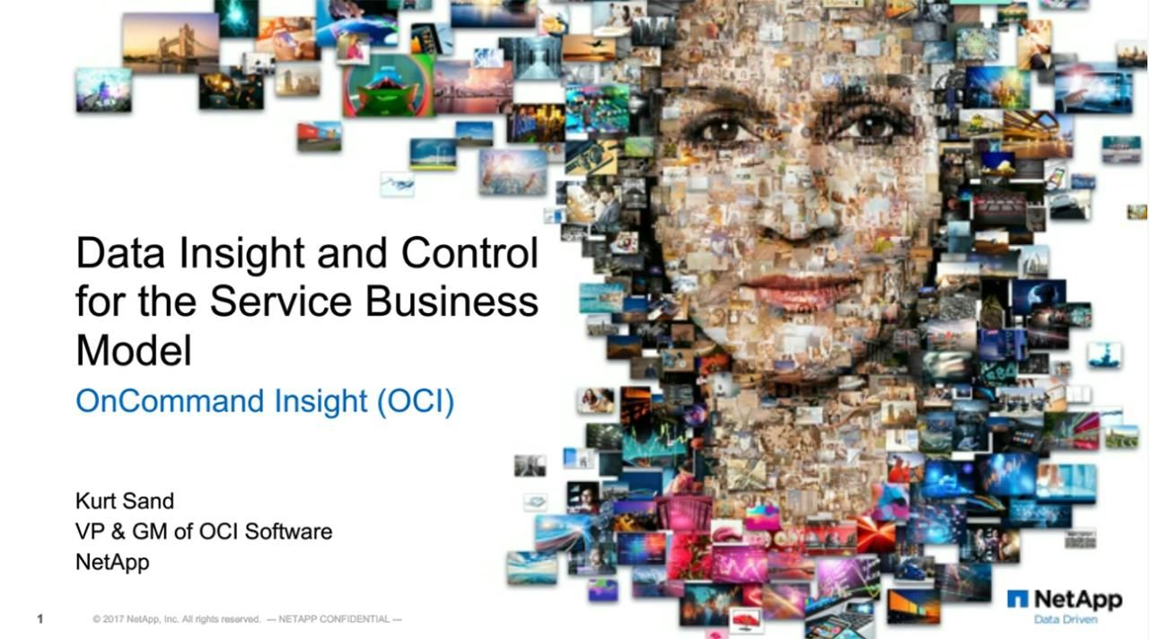 Data Insight and Control for the Service Business Model (OCI)