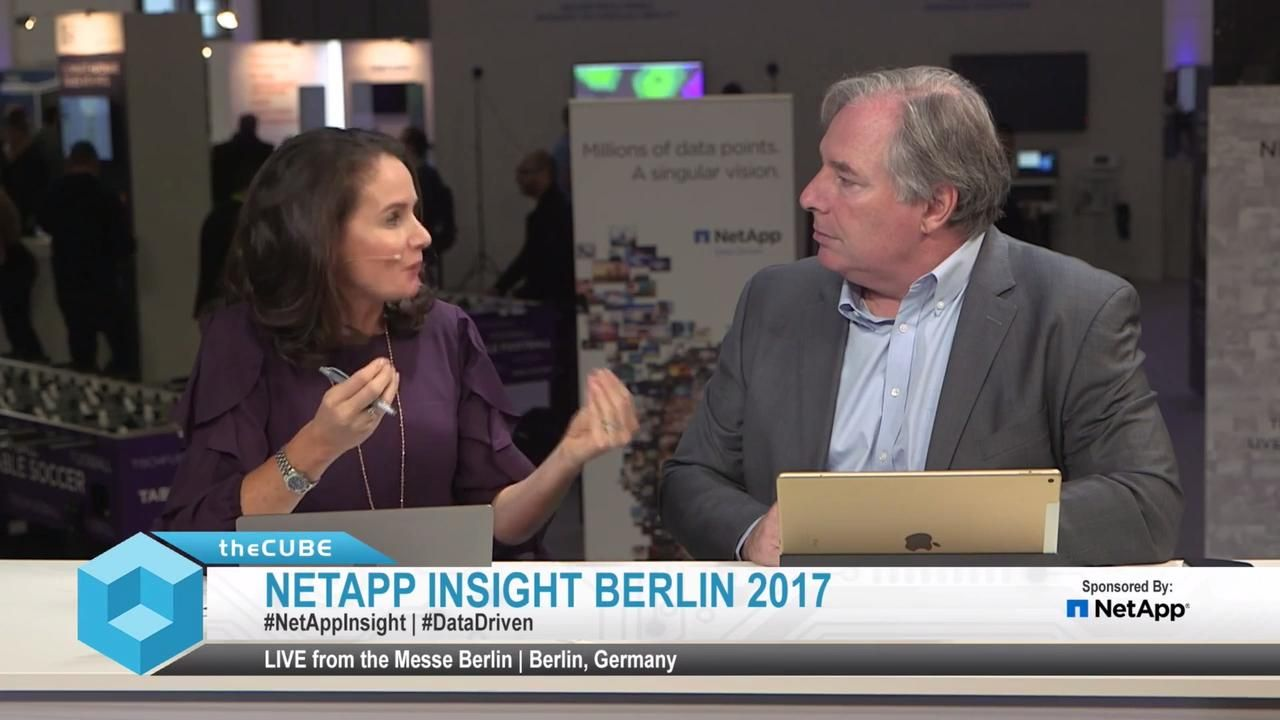 Kickoff NetApp Insight Berlin 2017